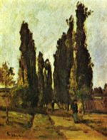 Camille  Pissarro - paintings - The Way