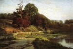 Theodore Clement Steele  - paintings - The Oaks of Vernon