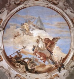 Giovanni Battista Tiepolo - paintings - Bellerophon on Pegasus