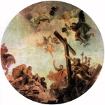 Giovanni Battista Tiepolo - paintings - Discovery of the True Cross