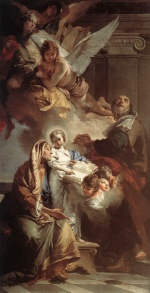 Giovanni Battista Tiepolo - paintings - Education of the Virgin
