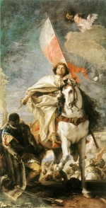 Giovanni Battista Tiepolo - Bilder Gemälde - St. James the Greater Conquering the Moors