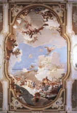 Giovanni Battista Tiepolo - paintings - The Apotheosis of the Pisani Family