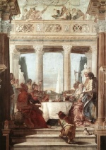 Giovanni Battista Tiepolo - paintings - The Banquet of Cleopatra