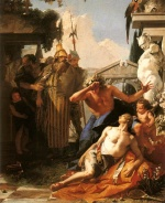 Giovanni Battista Tiepolo - paintings - The Death of Hyacinth