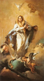 Giovanni Battista Tiepolo - paintings - The Immaculate Conception