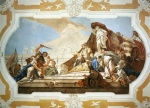 Giovanni Battista Tiepolo - paintings - The Judgment of Solomon