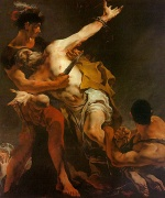 Giovanni Battista Tiepolo - paintings - The Martyrdom of St. Bartholomew