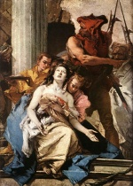 Giovanni Battista Tiepolo - paintings - The Martyrdom of St. Agatha