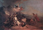 Giovanni Battista Tiepolo - paintings - The Rape of Europa