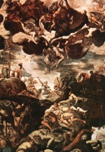 Jacopo Robusti Tintoretto - paintings - Brazen Serpent