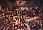 Jacopo Robusti Tintoretto - paintings - Crucifixion