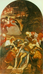 Jacopo Robusti Tintoretto - paintings - Entombment