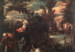 Jacopo Robusti Tintoretto - paintings - Flight into Egypt