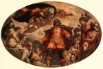 Jacopo Robusti Tintoretto - Bilder Gemälde - Glorification of St. Roch