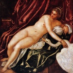 Jacopo Robusti Tintoretto - Bilder Gemälde - Leda and the Swan