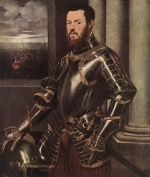 Jacopo Robusti Tintoretto - paintings - Man in Armour