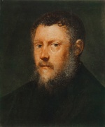 Jacopo Robusti Tintoretto - paintings - Portrait of a Man