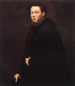 Jacopo Robusti Tintoretto - Bilder Gemälde - Portrait of a Young Gentleman