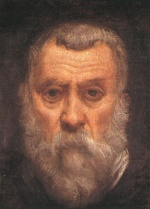 Jacopo Robusti Tintoretto - Bilder Gemälde - Self Portrait