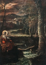 Jacopo Robusti Tintoretto - Bilder Gemälde - St. Mary of Egypt
