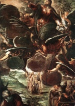 Jacopo Robusti Tintoretto - Bilder Gemälde - The Ascension