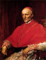 George Frederick Watts - paintings - Cardinal Manning