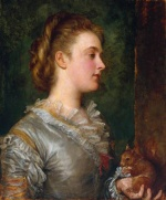 George Frederick Watts - paintings - Dorothy Tennant Later Lady Stanley