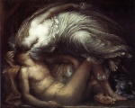 George Frederick Watts - paintings - Endymion