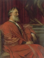 George Frederick Watts - paintings - Frederic Lord Leighton