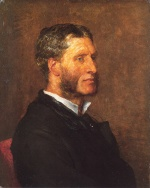 George Frederick Watts - paintings - Matthew Arnold