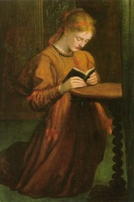 George Frederic Watts - Bilder Gemälde - May Prinsep (Preyer)