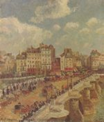 Camille  Pissarro - paintings - A Pont Neuf