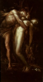 George Frederick Watts - paintings - Orpheus and Eurydice