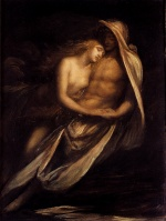 George Frederick Watts - paintings - Paulo and Francesca