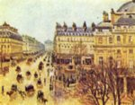 Camille  Pissarro - paintings - Paris im Regen