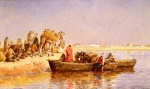 Edwin Lord Weeks - Bilder Gemälde - Along the Nile