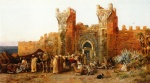 Edwin Lord Weeks - paintings - Gate of Shehal Morocco