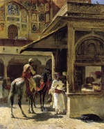 Edwin Lord Weeks - Bilder Gemälde - Hindu Merchants