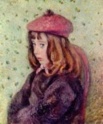 Camille  Pissarro - paintings - Portraet des Felix