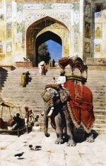 Edwin Lord Weeks - Bilder Gemälde - Royal Elephant