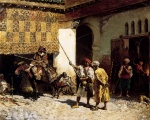 Edwin Lord Weeks  - Bilder Gemälde - The Arab Gunsmith