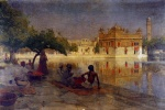 Edwin Lord Weeks  - Bilder Gemälde - The Golden Temple Amritsar