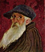 Camille  Pissarro - paintings - Selbstportraet