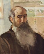 Camille  Pissarro - paintings - Self Portrait