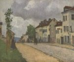 Camille  Pissarro  - paintings - Strasse in Pontoise