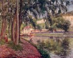 Camille  Pissarro  - paintings - Treidelweg