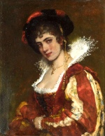 Bild:Portrait of a Venetian Lady