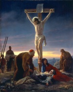 Carl Heinrich Bloch - paintings - The Crucifixion