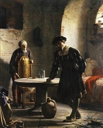Carl Heinrich Bloch - paintings - The Imprisoned Danish King Christian II.